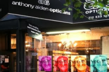 Harry Larys at ANTHONY AIDEN OPTICIANS