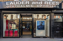 Harry Larys at LAUDER & REES OPTICIANS
