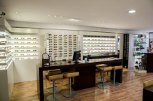 Harry Larys at CUQUEL OPTICIEN