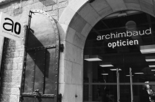 Harry Larys at ARCHIMBAUD OPTICIEN