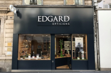 Harry Larys at EDGARD OPTICIEN
